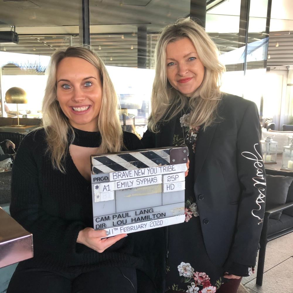 Lou directing Emily's film